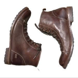 Bed Stu Mens Brown Leather Boots 12